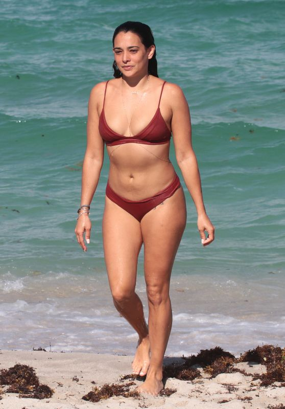 Natalie Martinez in Bikini - Miami Beach, Florida 07/08/2017