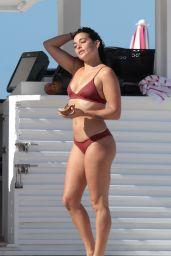Natalie Martinez Shows Off Her Bikini Body - Miami Beach 07/05/2017