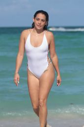 Natalie Martinez - Shows Off Her Swimsuit Body in Miami Beach 07/08/2017
