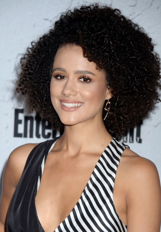 Nathalie Emmanuel – EW Party at San Diego Comic-Con 07/22/2017