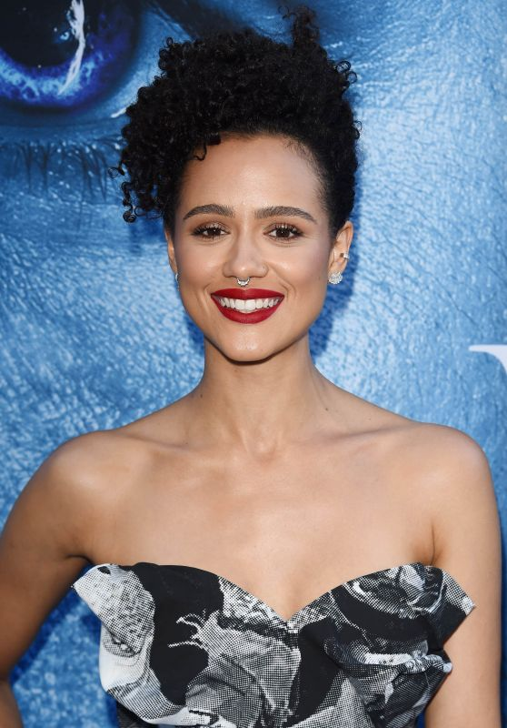 "Nathalie Emmanuel – ""Game Of Thrones"" Season 7 Premiere in Los Angeles 07/12/2017"