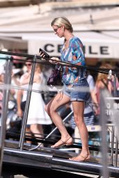 Nicky Hilton and Her Husband James Rothschild - Saint-Tropez 07/21/2017