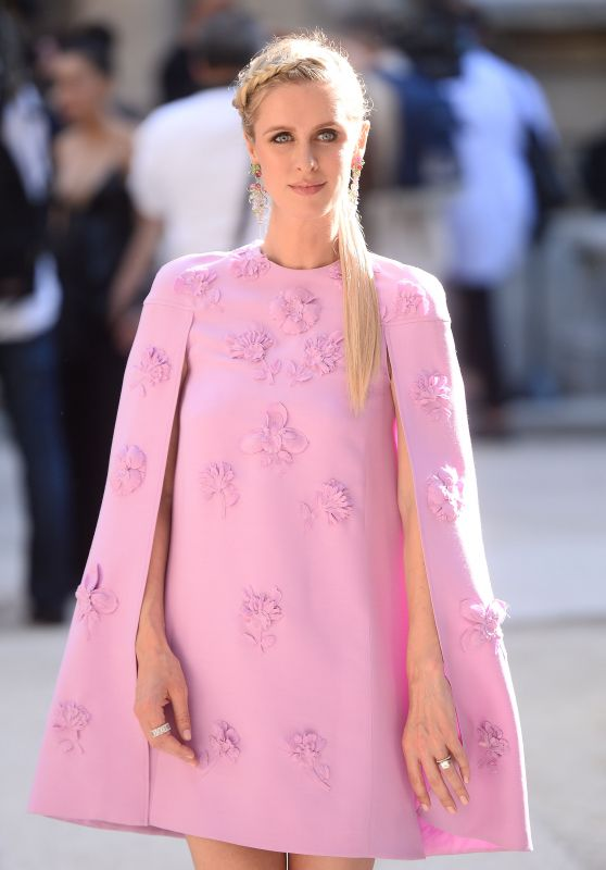 Nicky Hilton - Leaves the Valentino Fashion Show in Paris 07/05/2017