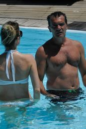 Nicole Kimpel in Bikini - Ischia, Italy 07/13/2017