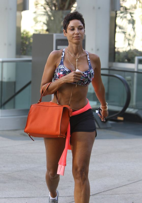 Nicole Murphy - Heads to Her Workout in Beverly Hills 07/17/2017