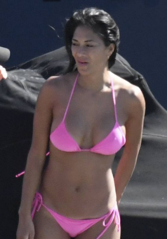 Nicole Scherzinger Bikini Candids - Mykonos, Greece 07/03/2017