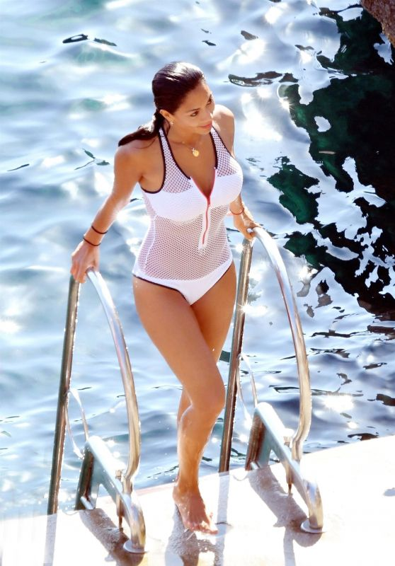Nicole Scherzinger in Swimsuit - Summer Holiday in Capri, Italy 07/20/2017