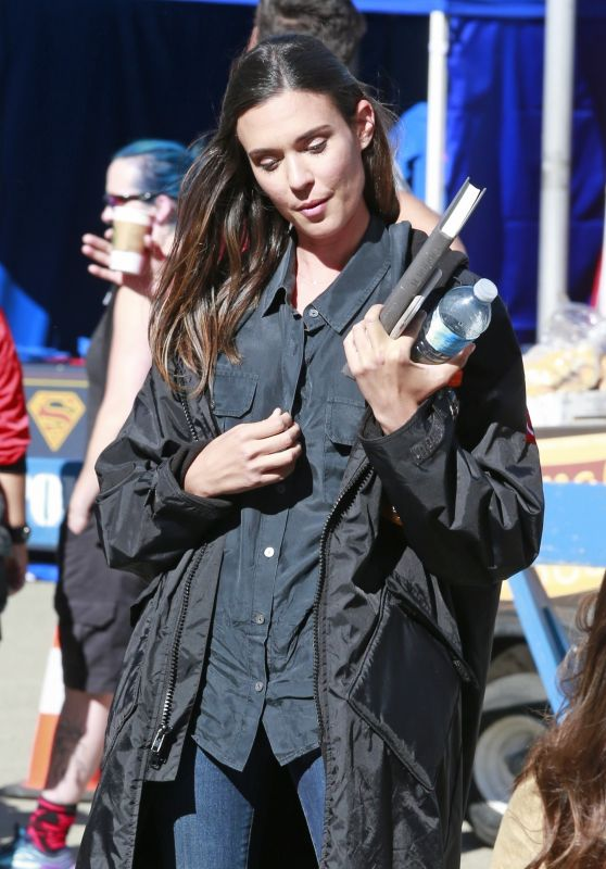 Odette Annable - Out in Vancouver 07/16/2017