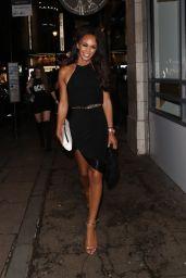 Olivia Bentley - Leaving DSTRKT Nightclub in London 07/28/2017