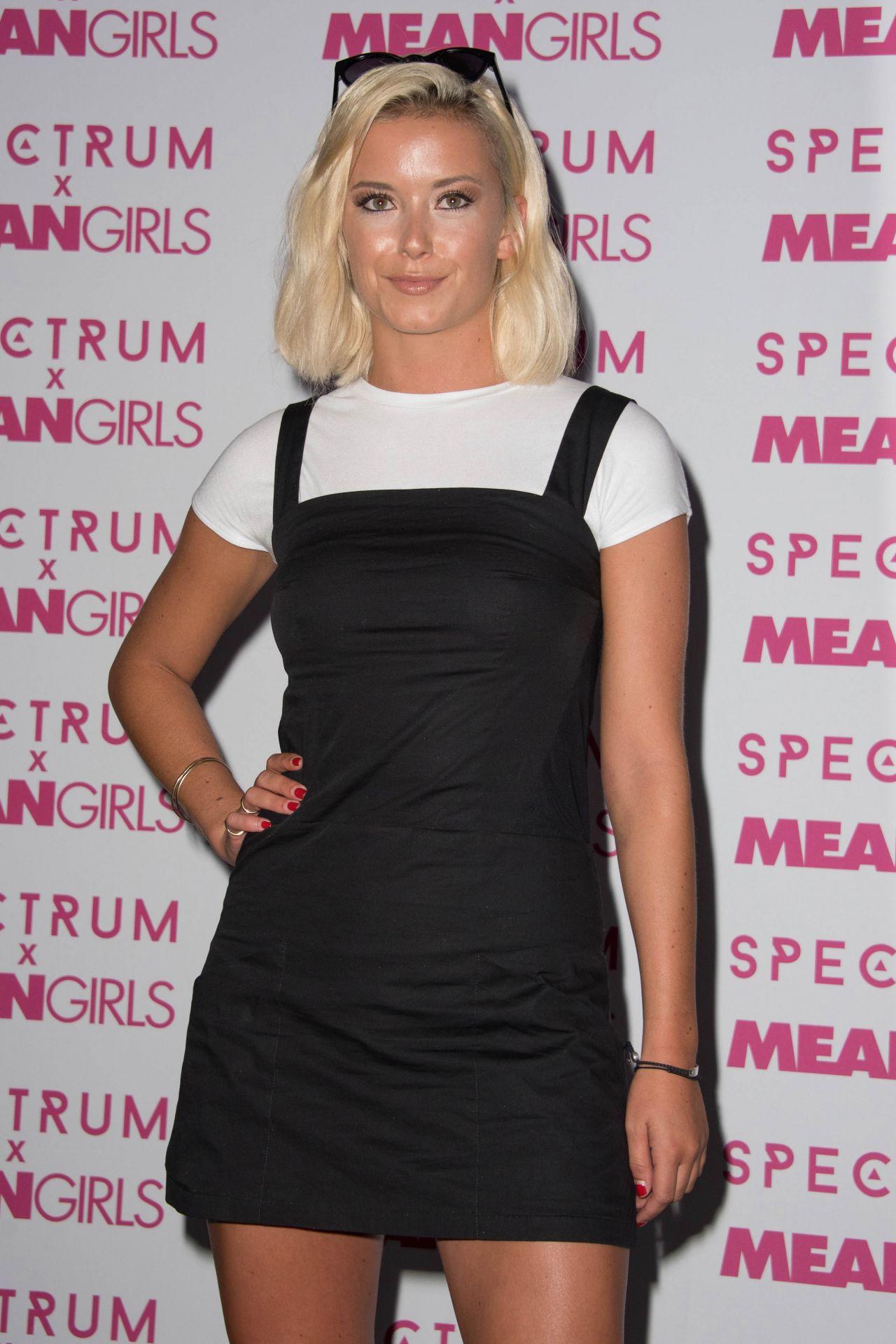 Olivia Bentley Spectrum And Mean Girls Burn Book Launch