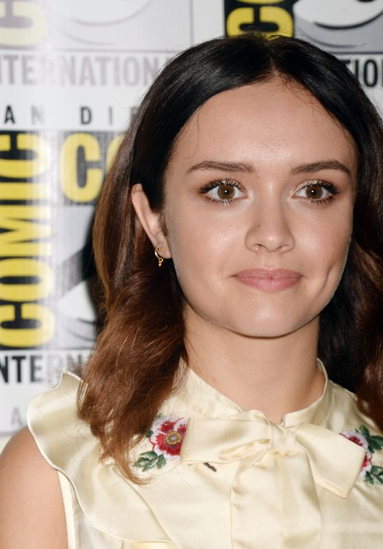 "Olivia Cooke - ""Ready Player One"" Movie Photoscall at Comic-Con International, San Diego 07/22/2017"