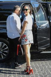 Olivia Munn Shows Off Her Legs - Cecconi