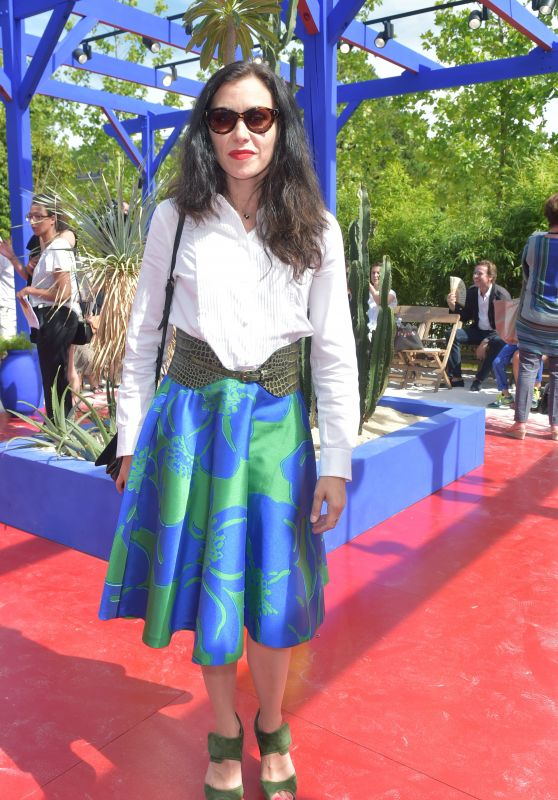 Olivia Ruiz – Bonpoint Fashion Show FW 2017 in Paris 07/05/2017