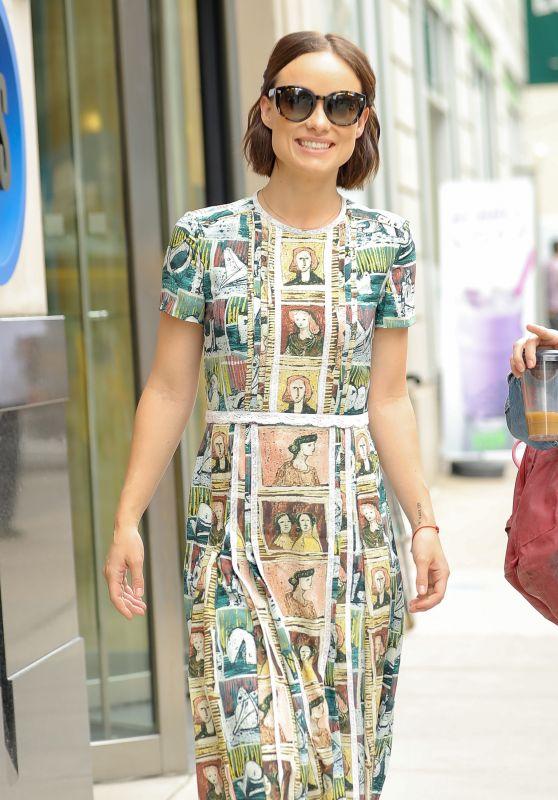 Olivia Wilde Style - NYC 07/06/2017