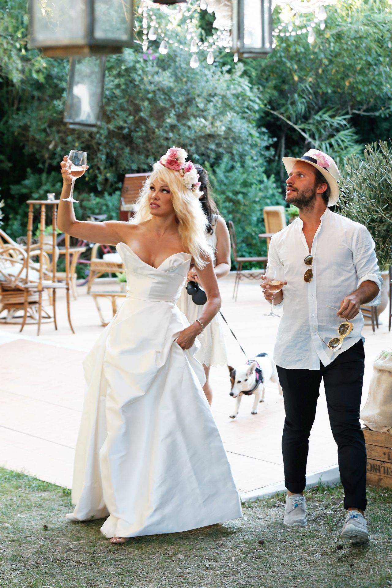 Pamela Anderson - Opening of Her Ephemeral Vegan Restaurant \