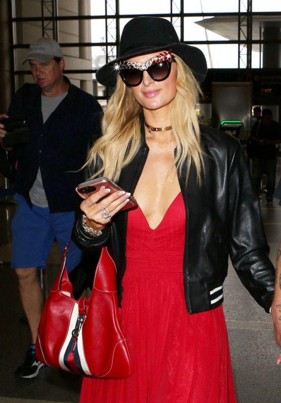 Paris Hilton - LAX airport in Los Angeles 06/30/2017
