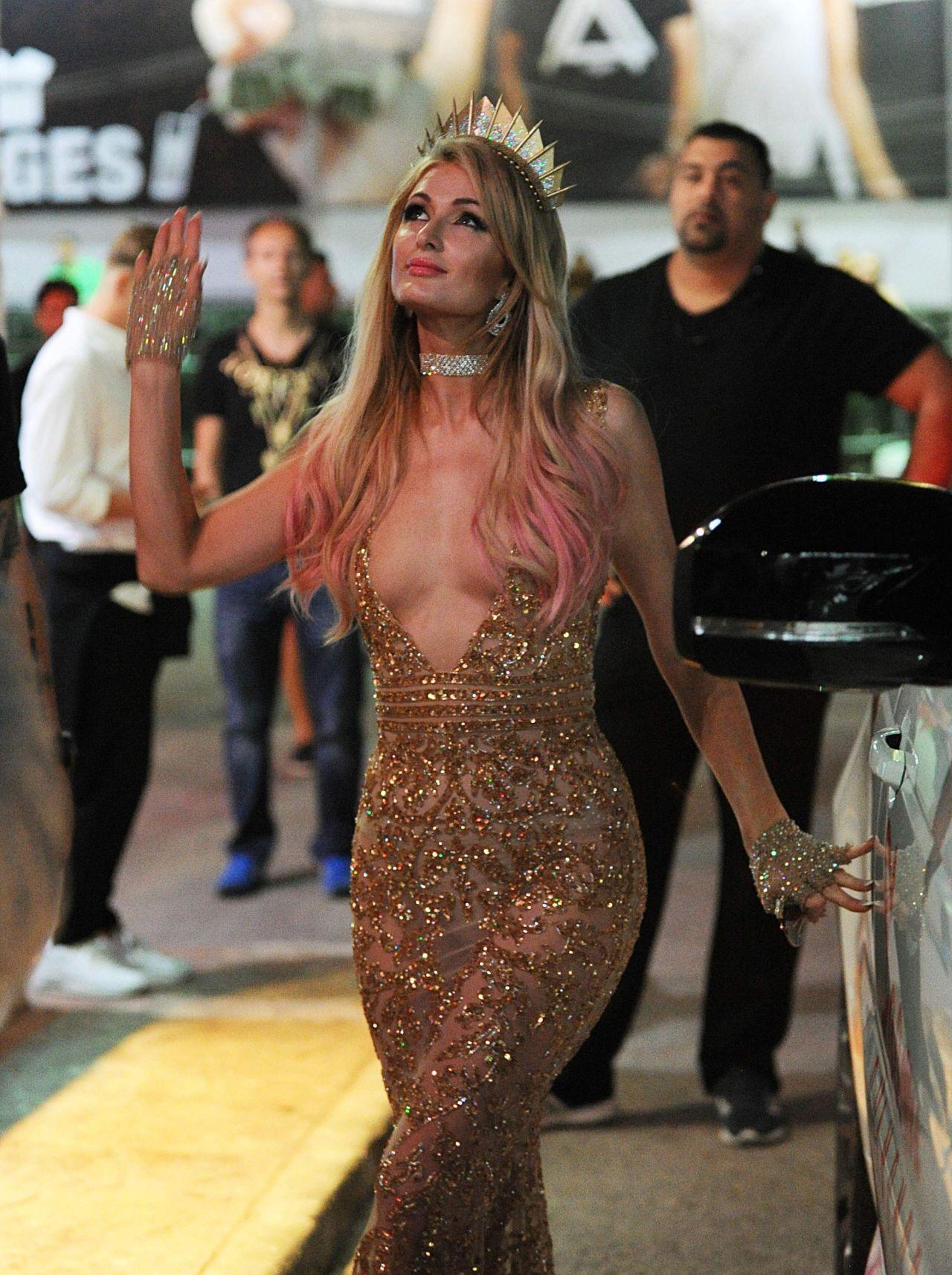 Paris Hilton Party In Ibiza 07 02 2017