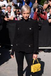 Pom Klementieff – Chanel Show at Haute Couture Paris Fashion Week 07/04/2017