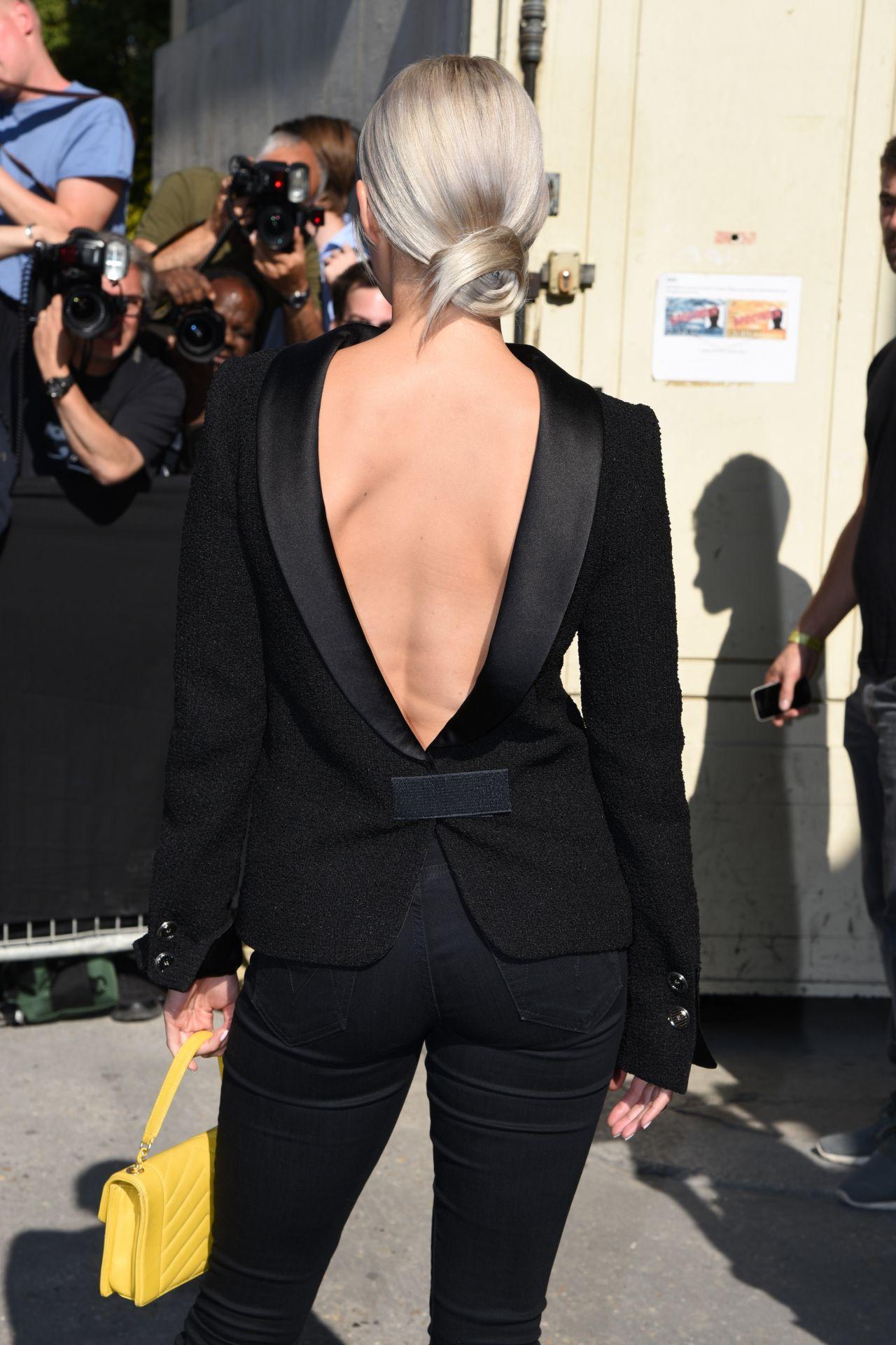 Pom Klementieff Chanel Show At Haute Couture Paris
