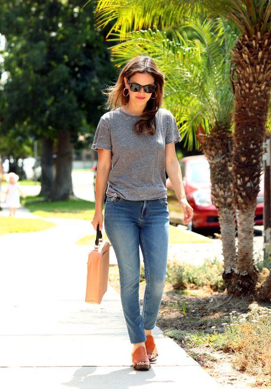 Rachel Bilson - Strolling in Beverly Hills 07/31/2017