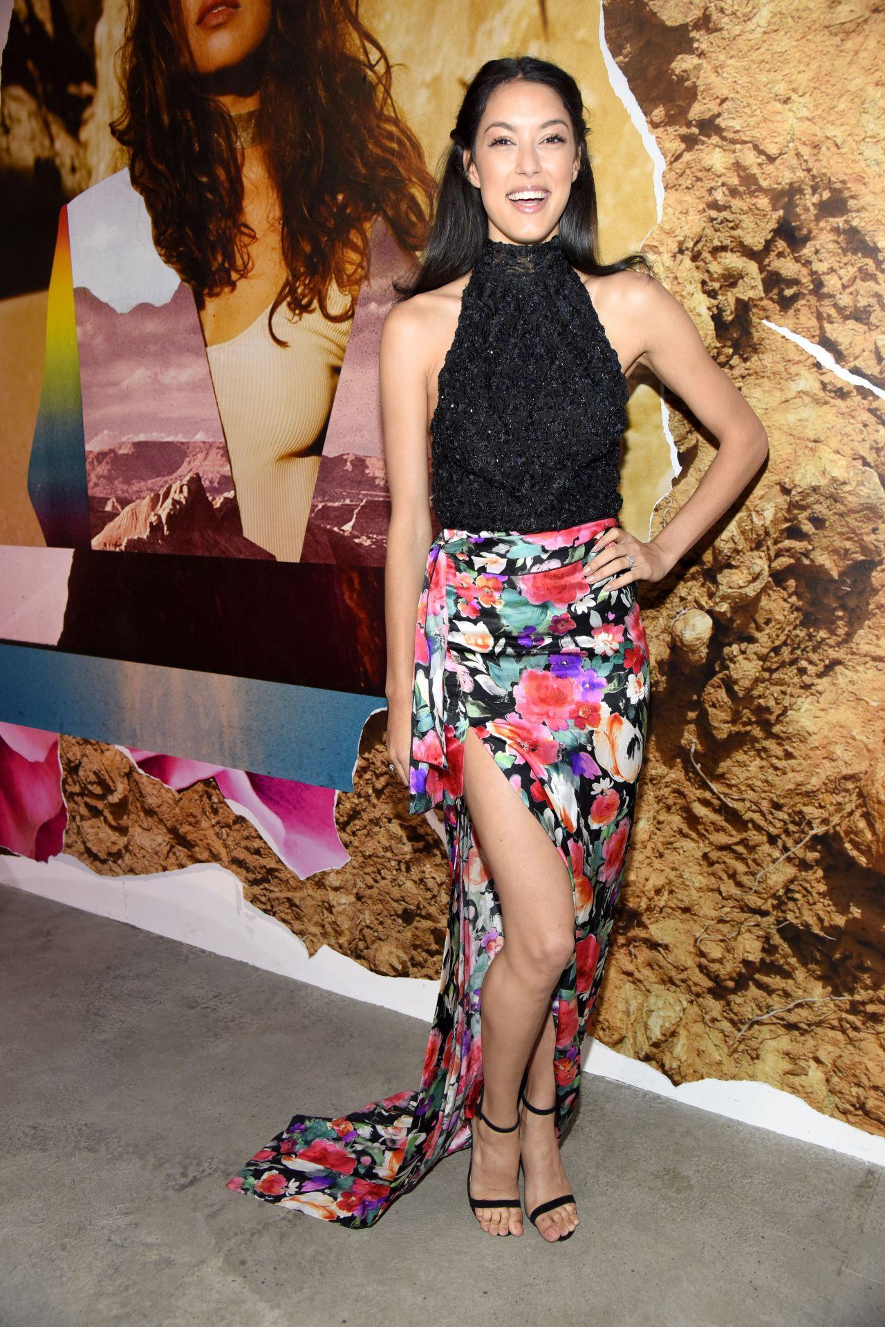Rebecca Mir - Lena Hoschek Show at Mercedes Benz Fashion