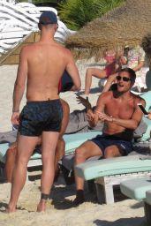 Rebekah Vardy and Kimberly Crew in a Bikinis - Beach in Portugal 07/05/2017