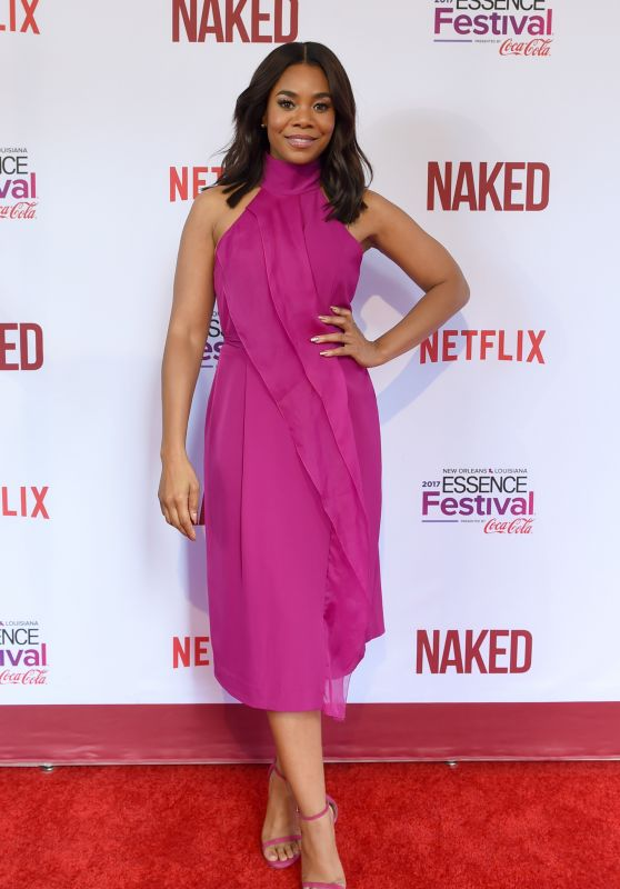 """Regina Hall - """"Naked"""" Premiere at The 2017 Essence Festival in New Orleans 06/30/2017"""