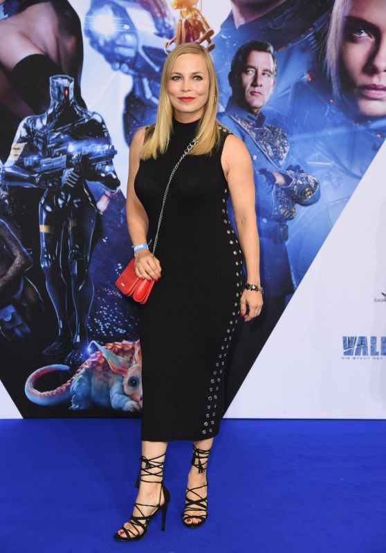 "Regina Halmich – ""Valerian and the City of a Thousand Planets"" Premiere in Hollywood 07/17/2017"