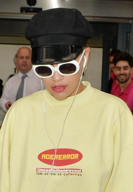 Rita Ora - Arriving at Heathrow Airport in London, England 07/09/2017