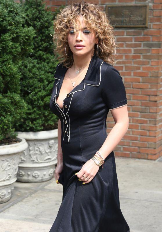 Rita Ora - Leaving Her Manhattan Hotel 07/17/2017