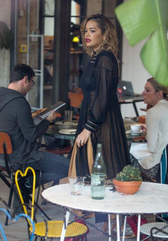 Rita Ora - Shopping at The Store at Soho House Hotel in Berlin 07/03/2017