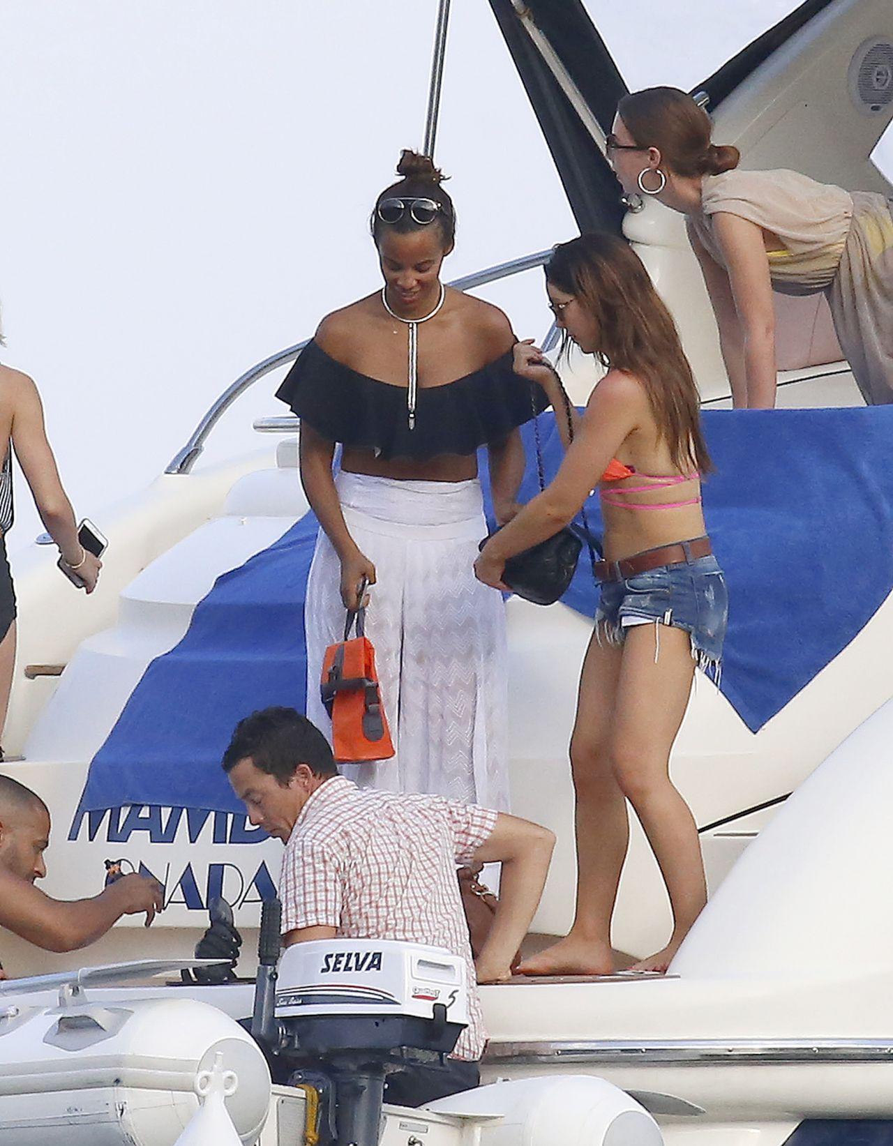 Rochelle Humes In Bikini In Ibiza 07 20 2017