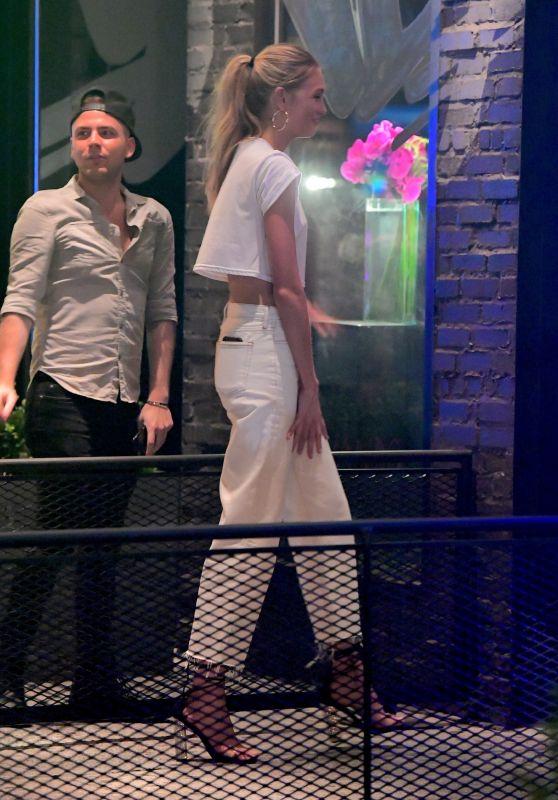 Romee Strijd - Celebrating Her Birthday With Sara Sampaio & Daphne Groeneveld in NYC 07/18/2017