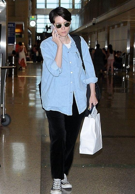 Rooney Mara - LAX Airport 07/27/2017