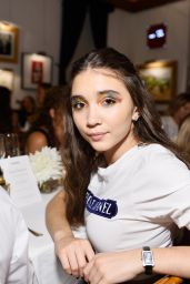 Rowan Blanchard - Chanel Dinner with Lucia Pica in LA 07/12/2017