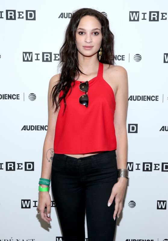 Ruby Modine at 2017 WIRED Cafe at Comic Con in San Diego