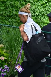Sabine Lisicki - Arrives on Day One of the Wimbledon Tennis Championships 07/03/2017