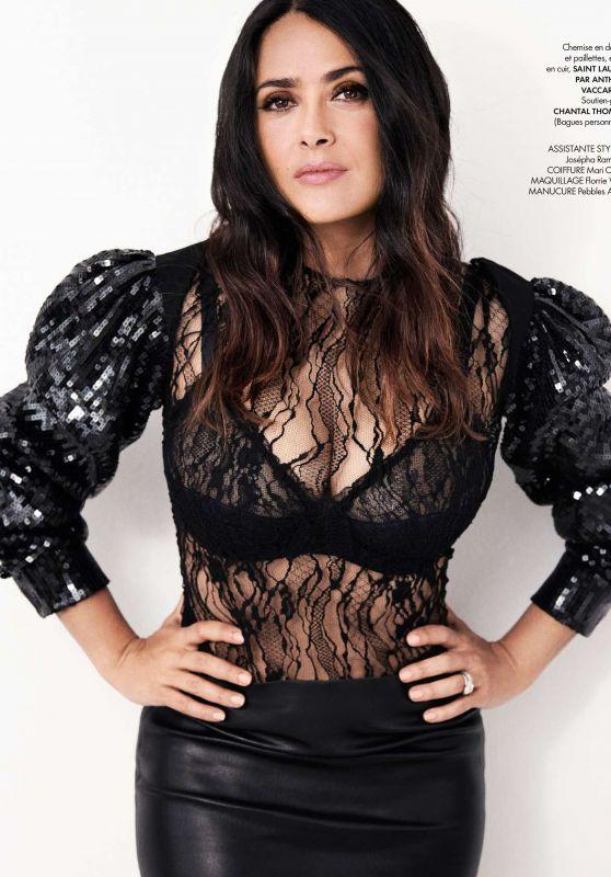 Salma Hayek - Elle Magazine France July 2017 Issue