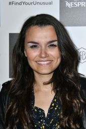 Samantha Barks - Nespresso Launch Party in London, UK 07/11/2017