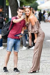 Sandra Kubicka - Out in Warsaw 08/07/2017