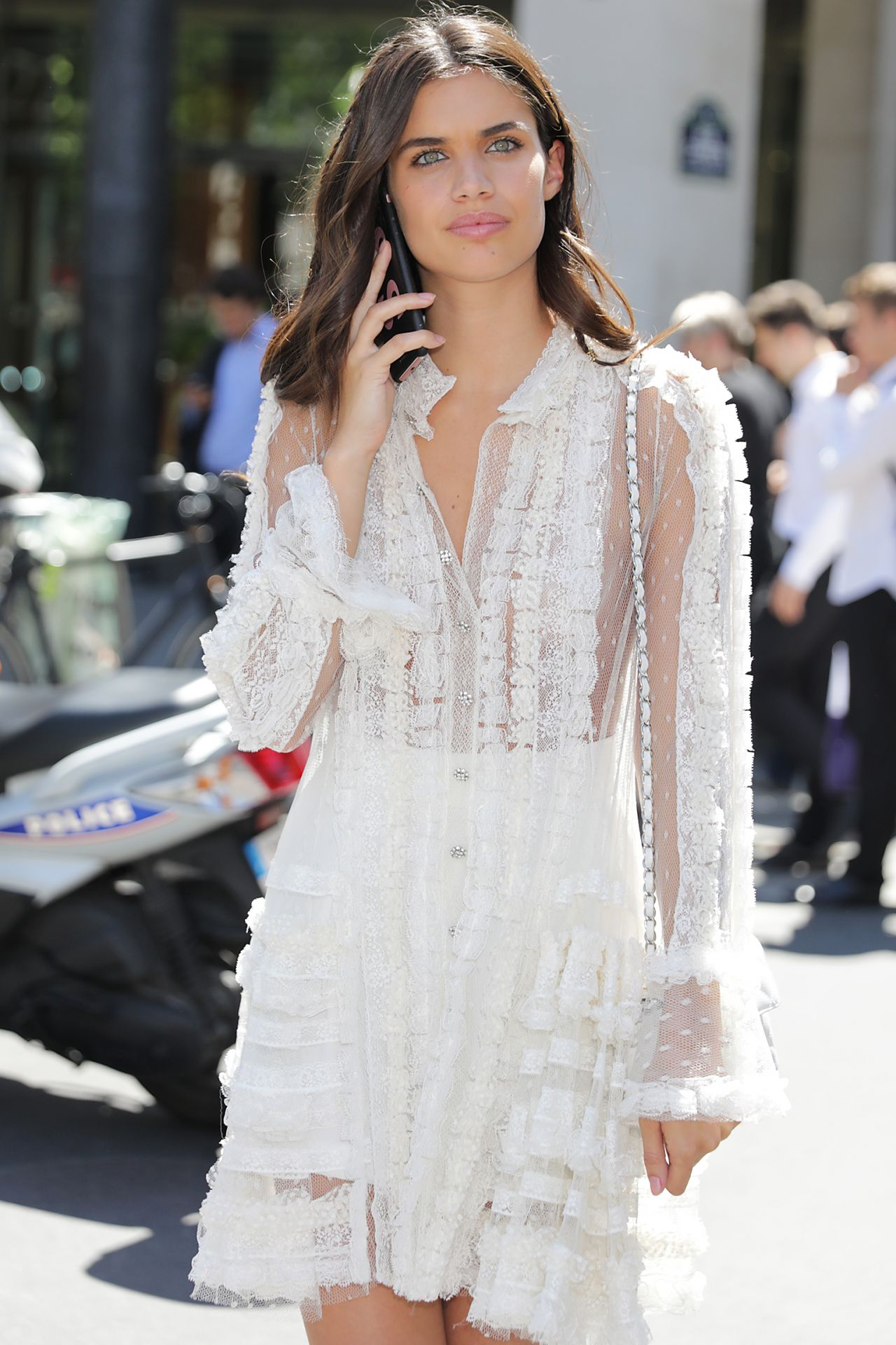 Sara sampaio at paris fashion week haute couture fall for Haute couture fashion