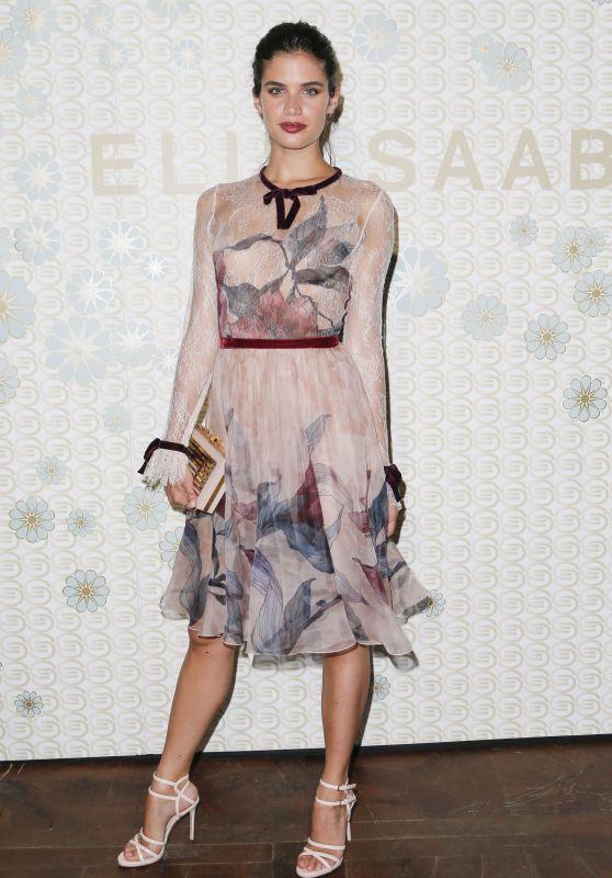 "Sara Sampaio - Elie Saab ""Girl Of Now"" Perfume Launch in Paris 07/06/2017"