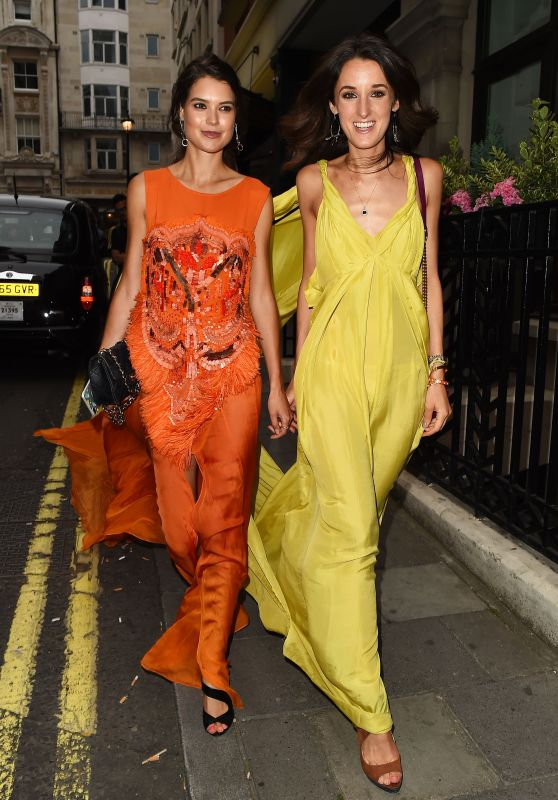 Sarah Ann Macklin & Rosanna Falconer – Quaglinos Q Legends Launch Party in London, UK 07/18/2017