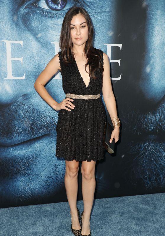 """Sasha Grey – """"Game Of Thrones"""" Season 7 Premiere in Los Angeles 07/12/2017"""