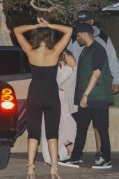 Selena Gomez - Out for Dinner in California with The Weeknd 07/23/2017