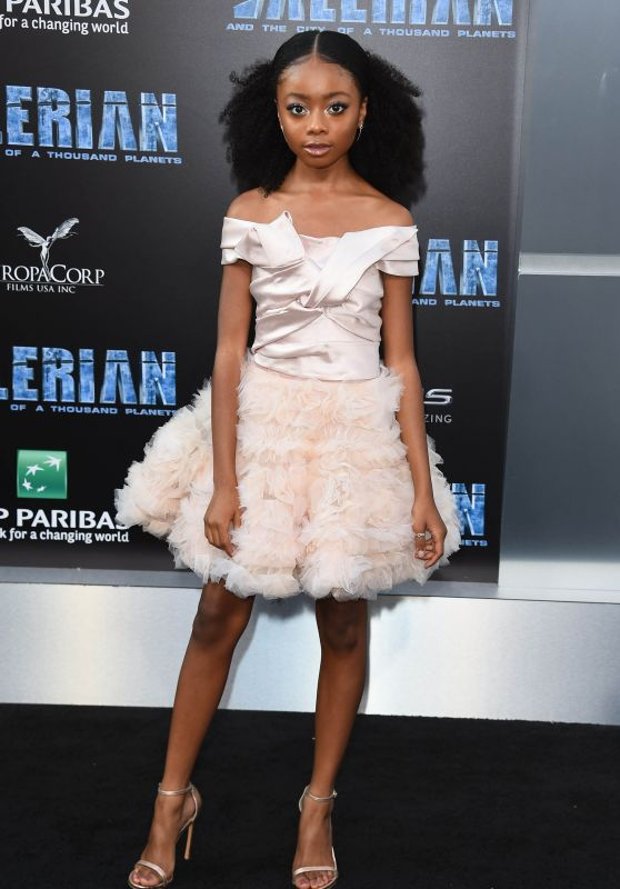 "Skai Jackson – ""Valerian and the City of a Thousand Planets"" Premiere in Hollywood 07/17/2017"
