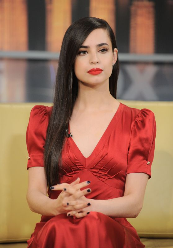 """Sofia Carson at """"Good Day New York"""" Studios in NYC 07/20/2017"""