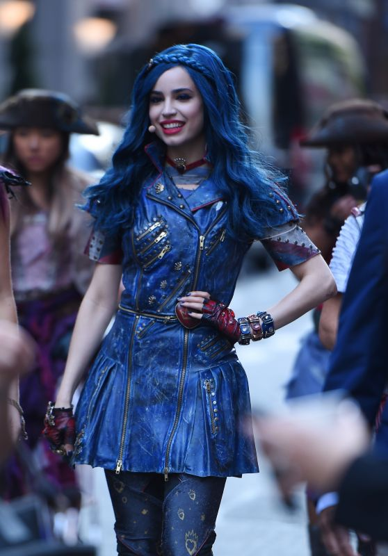 Sofia Carson at Good Morning America Studios in Times Square, NYC 070/17/2017