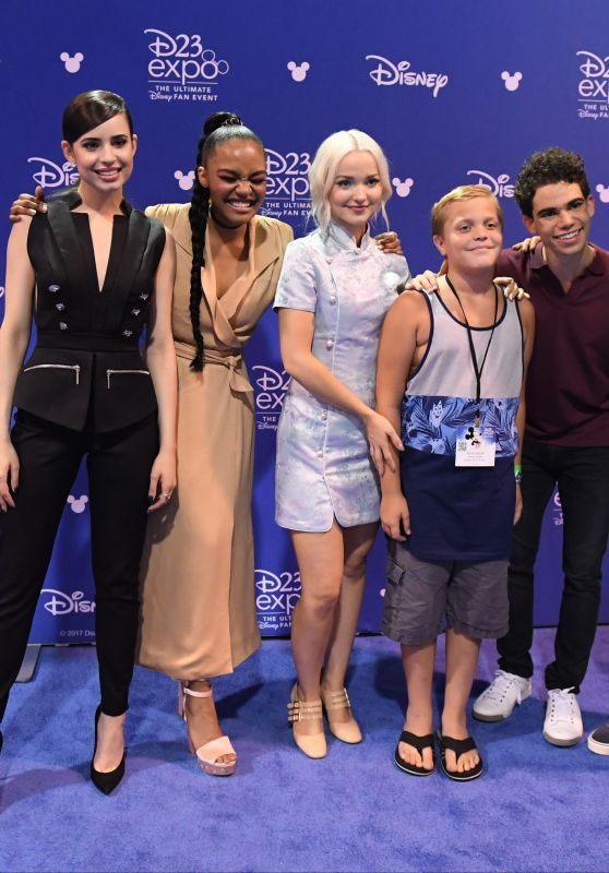 Sofia Carson – Disney's D23 EXPO 2017 in Anaheim 07/15/2017