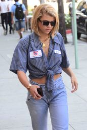 Sofia Richie Street Style - Out in Beverly Hills 07/14/2017